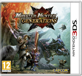 Диск Monster Hunter Generations (Б/У) [3DS]