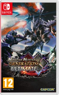 Диск Monster Hunter Generations Ultimate [NSwitch]