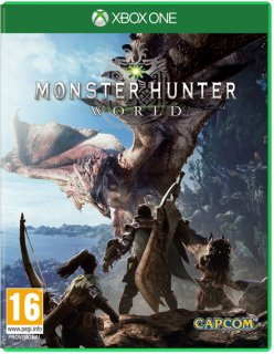 Диск Monster Hunter: World (Б/У) [Xbox One]