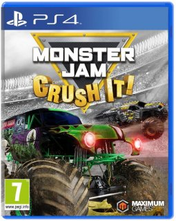 Диск Monster Jam - Crush It [PS4]