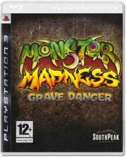 Диск Monster Madness: Grave Danger [PS3]