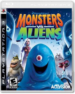Диск Monsters vs. Aliens (Б/У) [PS3]