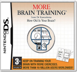 Диск More Brain Training (Б/У) (без коробочки) [DS]