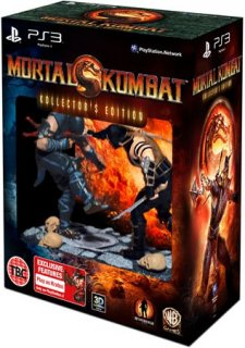 Диск Mortal Kombat Kollector's Edition [PS3]