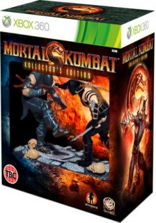 Диск Mortal Kombat Kollector's Edition [X360]