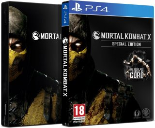 Диск Mortal Kombat X - Special Edition (Б/У) [PS4]