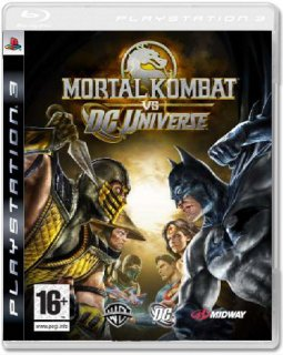 Диск Mortal Kombat vs. DC Universe [PS3]