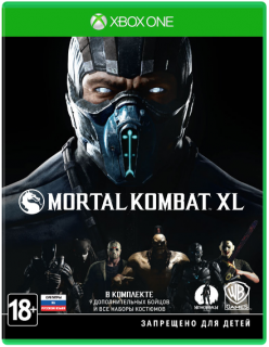 Диск Mortal Kombat XL [Xbox One]