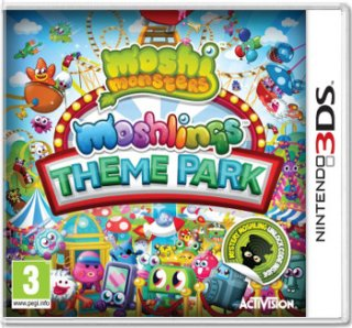 Диск Moshi Monsters: Moshling Theme Park [3DS]