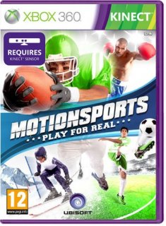 Диск MotionSports: Play for Real [X360, MS Kinect]