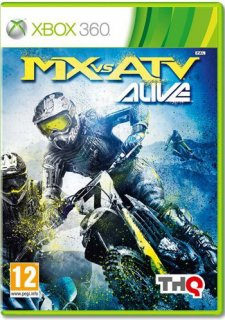 Диск MX vs ATV Alive [X360]
