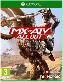 Диск MX vs ATV: All Out  [Xbox One]