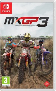 Диск MXGP 3: The Official Motocross Videogame [NSwitch]