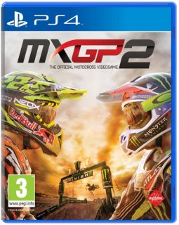 Диск MXGP2: The Official Motocross Videogame [PS4]