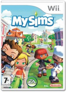 Диск My Sims [Wii]