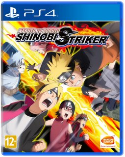 Диск Naruto to Boruto Shinobi Striker [PS4]