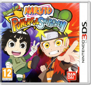 Диск Naruto Powerful Shippuden (Б/У) [3DS]
