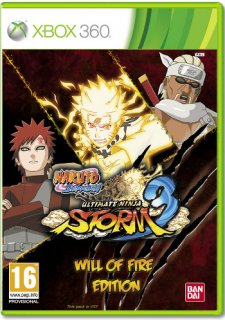 Диск Naruto Shippuden: Ultimate Ninja Storm 3 - Will of Fire Edition [X360]