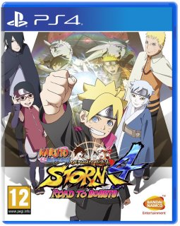 Диск Naruto Shippuden Ultimate Ninja Storm 4: Road to Boruto [PS4]