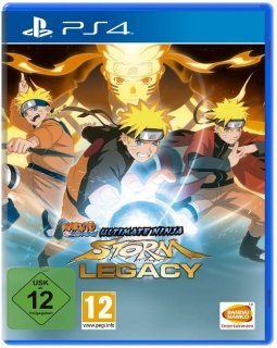 Диск Naruto Shippuden: Ultimate Ninja Storm Legacy Edition [PS4]
