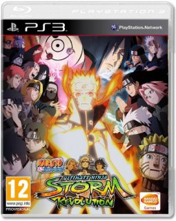Диск Naruto Shippuden Ultimate Ninja Storm Revolution Day One Edition (Б/У) [PS3]