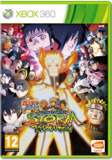 Диск Naruto Shippuden Ultimate Ninja Storm Revolution Day One Edition [X360]