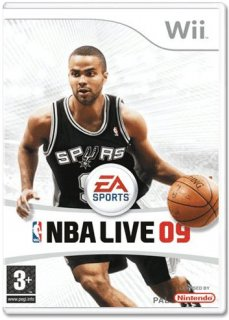 Диск NBA Live 09 All-Play [Wii]