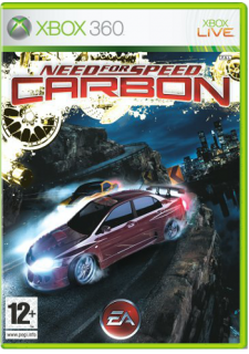 Диск Need for Speed Carbon (Б/У) [X360]