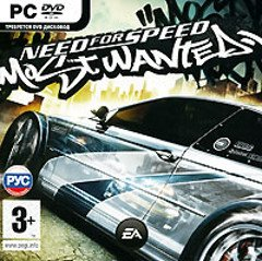 Диск Need for Speed Most Wanted 2005 [PC, jewel]