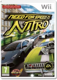 Диск Need For Speed Nitro [Wii]