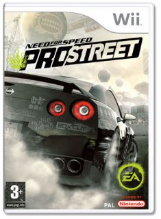 Диск Need for Speed ProStreet [Wii]