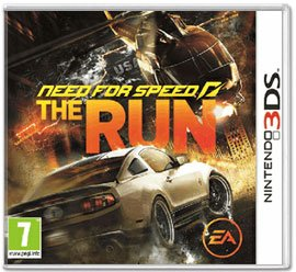 Диск Need for Speed The Run (Б/У) [3DS]