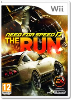 Диск Need for Speed The Run [Wii]