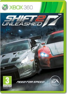 Диск Need for Speed Shift 2 Unleashed (Б/У) [X360]