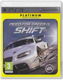 Диск Need for Speed SHIFT [Platinum] (Б/У) [PS3]