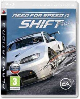 Диск Need for Speed SHIFT [PS3]