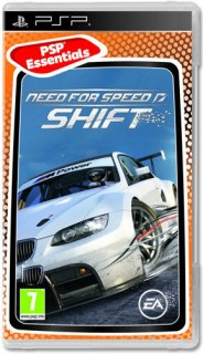 Диск Need for Speed SHIFT [PSP]