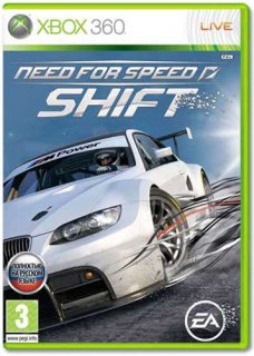 Диск Need for Speed SHIFT [X360]