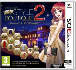 Диск New Style Boutique 2: Fashion Forward [3DS]