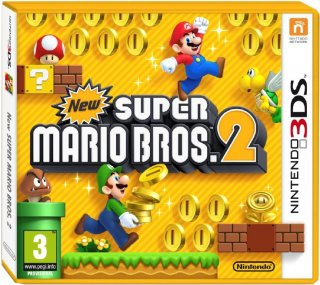 Диск New Super Mario Bros. 2 (Б/У) [3DS]