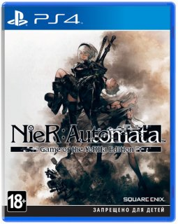 Диск Nier Automata Game of the YoRHa Edition [PS4]