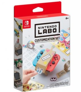 Диск Nintendo Labo Customization Set [Комплект дизайн]