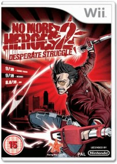 Диск No More Heroes 2 Desperate Struggle [Wii]