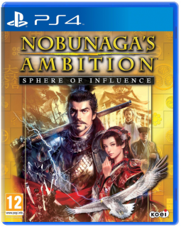 Диск Nobunaga's Ambition: Sphere of Influence [PS4]