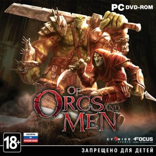 Диск Of Orcs and Men [PC, Jewel]