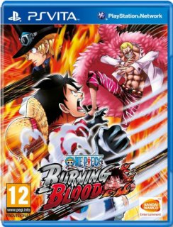 Диск One Piece Burning Blood (Б/У) [PS Vita]