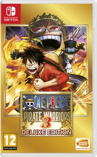 Диск One Piece: Pirate Warriors 3 Deluxe Edition [Nswitch]