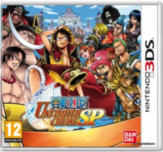 Диск One Piece Unlimited Cruise SP (Б/У) [3DS]