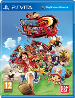 Диск One Piece: Unlimited World Red (Б/У) [PS Vita] (без коробки)