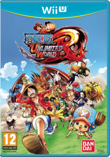 Диск One Piece: Unlimited World Red [Wii U]
